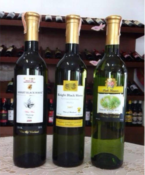 White wines collection